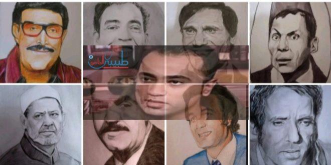 محمود .. فنان يعزف على الورق بروح إنسان